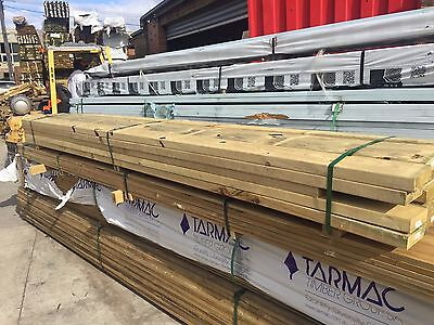 Treated Pine H3 140x45 Pack Lot 71.7 LM Joist Bearer Packing Deck Fence BP89