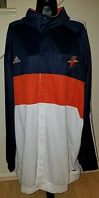 NBA 2007 Golden State Warriors Game Worn Adidas Warm-Up Jacket  3XL Tall