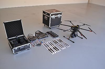 Yuneec Tornado H920 Hexacopter with CGO4 camera, gimbal & Pro-Action Steady Grip