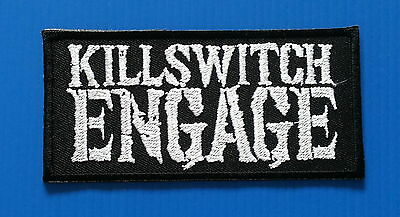 KILLSWITCH ENGAGE American Metalcore Embrodered Iron/Sewn On Patch Free Ship