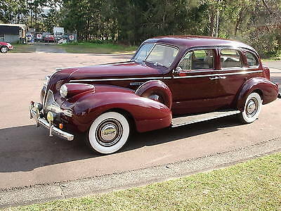 1939 Buick, Roadmaster 80 LWB, Factory Division Window