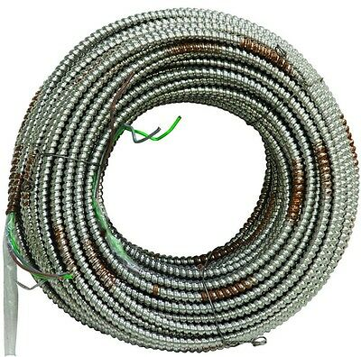 AFC Cable System 12/2-Gauge x 1000 ft MC Lite Armored Electrical Grounded Copper