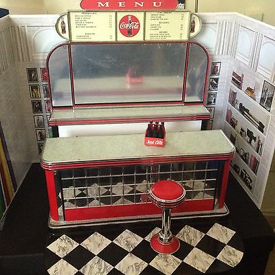 Barbie Coca Cola Soda Fountain Display