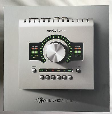 Universal Audio APOLLO Twin Duo THUNDERBOLT Audio Interface Brand New   SAVE