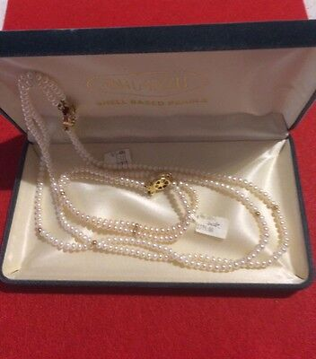 Freshwater Pearl Necklace And Bracelet Set (tagged $375)
