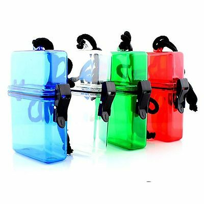Camping Phone Holder Key Money Waterproof Case Storage Box Plastic Container
