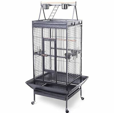 Bird Cage 2016 Style Large Play Top Parrot Finch Cage Macaw Cockatoo Pet Supply