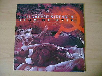 LP  Steelcapped Strength – Sign Of Evil #  Dim Records # Oi! # RAC # SKINHEAD