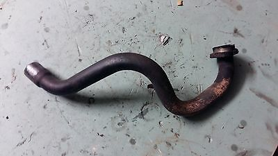 Piaggio Xevo 125 2009 exhaust collector down pipe