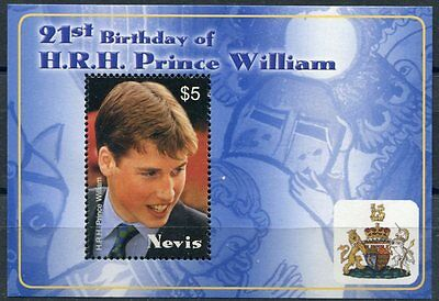 Nevis 2003 BF 229 principe William  mnh