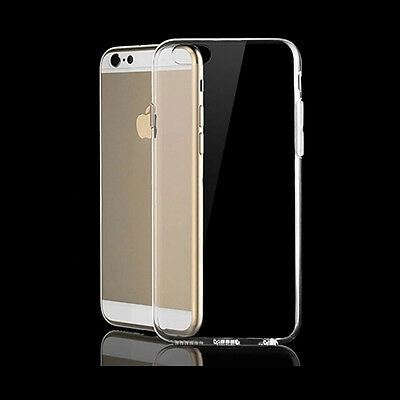 Transparent Case Cover For Iphone 6Plus  Silicone  Matte Clear  Protector Great