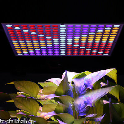 45W LED Hydroponic Plant Grow Light Lighting Panel Full Spectrum for Vegetable Q