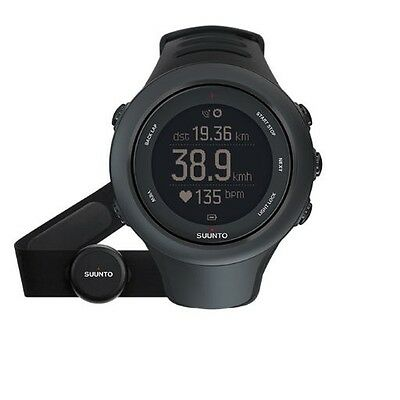 Suunto Ambit 3 Sports Watch with HRM Black