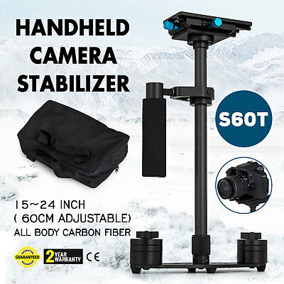 "Carbon Fiber 24"" Handheld Stabilizer Steadicam Steadycam for Canon DSLR Camera"