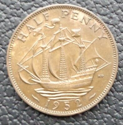 1937 To 1952 George Vi Half Penny Choice Of Year Buy 3 And Get 2 Free