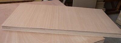 5 pieces NEW 6mm Top quality B/BB Exterior Grade Hardwood Ply 1220mm x 540mm