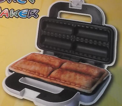 SAUSAGE ROLL MAKER , PASTRY CHEF .4 Non Stick cooking plate