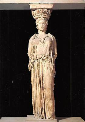 Greece The British Museum Caryatid Marble Statues