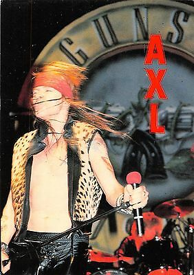 Guns n Roses singer, vocalist, Axl Rose on stage