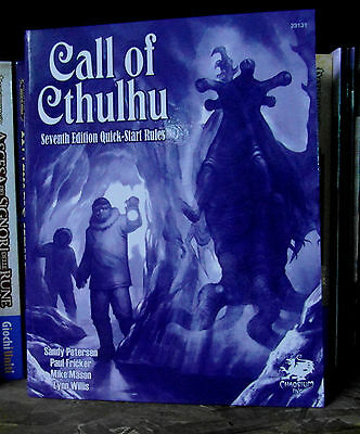 Call of Cthulhu RPG Seventh Edition Quick Start Rules