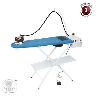Ironing board with boiler to energy saving and electric iron EOLO AS07