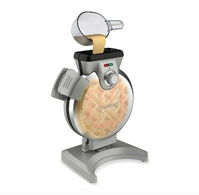 Brushed Stainless Steel Commercial Vertical Nonstic Belgian Waffle Maker Machine