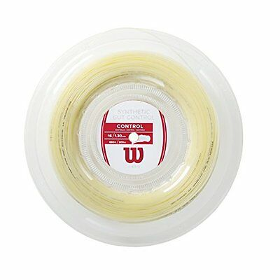 Wilson Synthetic Gut Control 16 String Reel - Transparent Natural, Size 16G 200