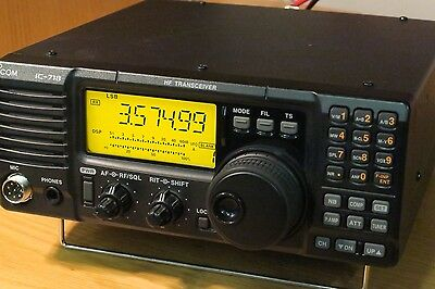 ICOM IC-718 HF Transceiver with UT-106 DSP Board. BOXED