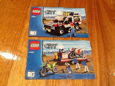 Lego 4433 Dirt Bikes And Transport