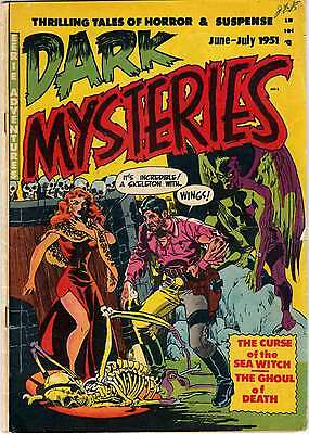 Us Golden Age Horror Comics Collection 2 On Dvd 145 Comics **buy 4  Get 1 Free**