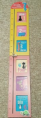 Children's Wooden Height Chart and Photo frame