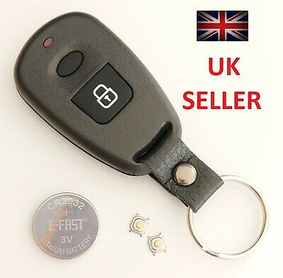 Hyundai Elantra Santa Fe Matrix Atos Trajet Remote Alarm Key Fob Case Repair Kit