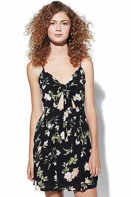 New LUCK Womens & TROUBLE Nelly Dress Black
