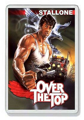 Over The Top Silvester Stallone Classic Dvd Movie Fridge Magnet Uk Seller