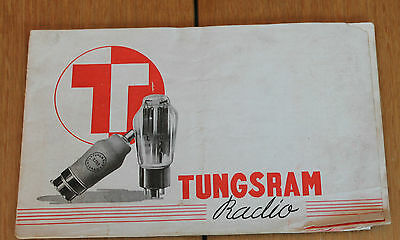 livre radio tungsram radio catalogue lampes radio