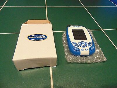 Rare vintage Wit Eden 6 in 1 Sudoku + others. Electronic Game Key ring Blue