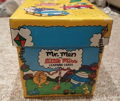 Mr men and little miss Learning cards Boxed