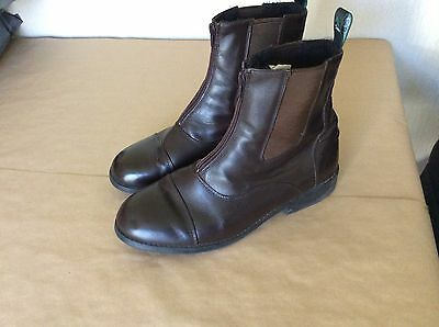 Dublin Elevation Zip Jodhpur Boots Brown MENS Leather Boots Size UK10