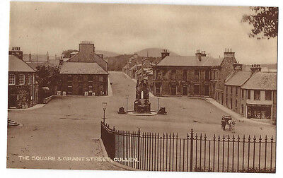 CULLEN The Square & Grant Street, RP Postcard by GW Findlay, Cullen, Unused