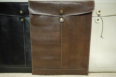 Lizard Leather Envelope Fine Quality  SPECIAL  LONG For ( 2 ) PIECES
