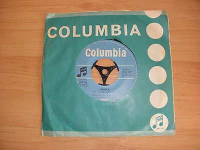"MAMA/Fraulein by Chris Howland (7"" vinyl 1959)"
