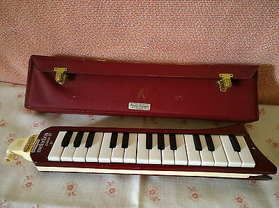 Melodica Hohner  piano 27 rot  weinrot