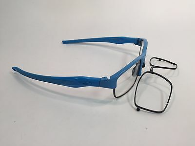 Oakley Crosslink Switch Optical Prescription Frame Sky Blue Black 53mm