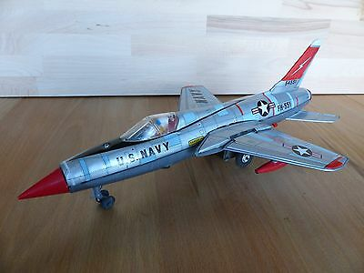 Yonezawa Thunder Chief Jet Fighter F-105 sehr selten