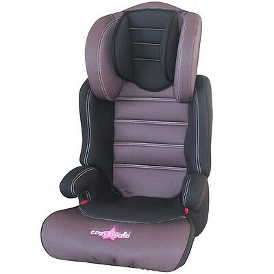 Lux Plus 23 Toddler Car Seat, Group 2/3 High Backed Booster, Child Safety Chair
