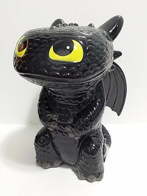 "NEW Toothless Piggy Bank Dragon Night Fury How To Train Your Dragon 8"" 2015"