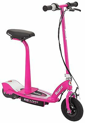 Razor E100S Electric Scooter With Seat - Pink4