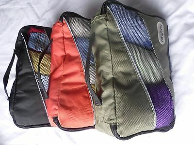 3pcs Small Packing Organizers for Bags & Backpacks Mixed Lightweight & Strong
