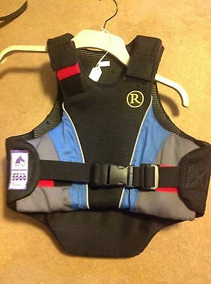 Riding Body Protector Child's Large Racesafe