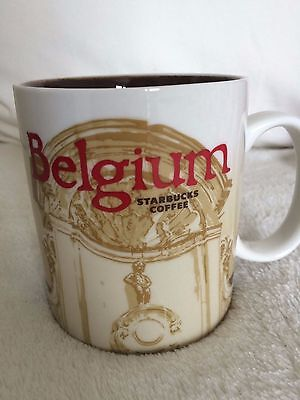 Starbucks City Mug Belgium Global Collector Series 16Oz (Made in China)